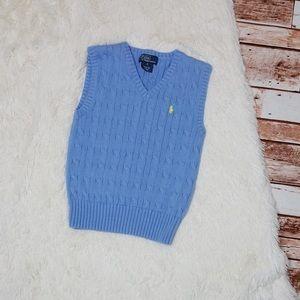 COPY - Light Blue Sweater Vest Ralph Lauren